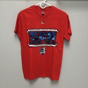 NWT David Ortiz Boston Red Sox Milestone T-Shirt
